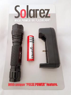 High Output UVA Flashlight Kit