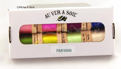 Bruno Pimpanini Pack of 8 Ovale Silk colours