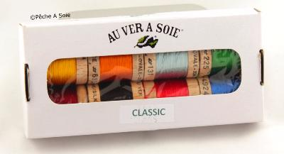 Classic pack of 8 Ovale Silk colours