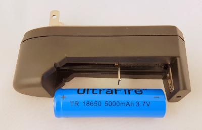 Battery Charger & ONE 3.7v Rechargable Battery